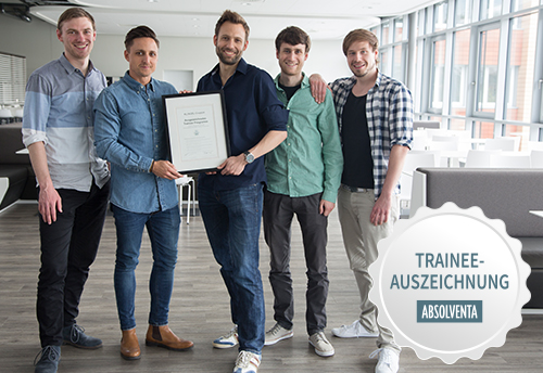 Trainee bei Klingel Auszeichnung Absolventa