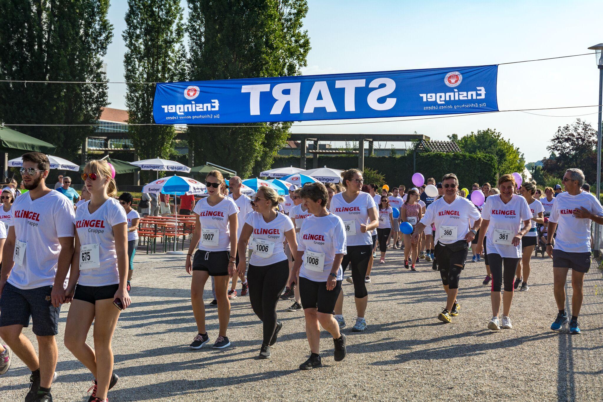 Lauf für das Leben - KLiNGEL Gruppe spendet für guten Zweck