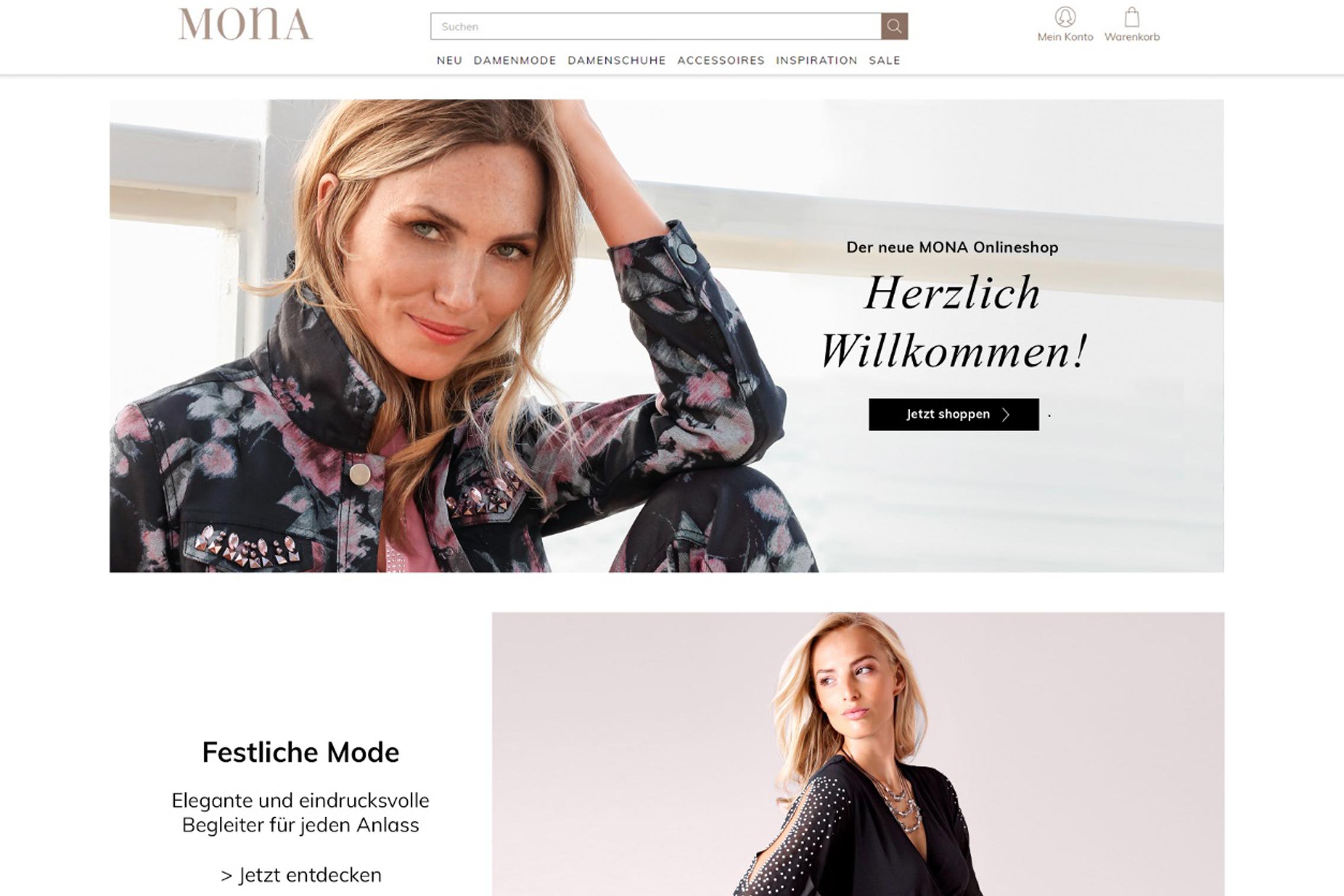 Umfassender Relaunch für mona.de - Klingel Gruppe
