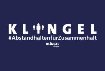 KLiNGEL Gruppe_News_AbstandhaltenfürZusammenhalt