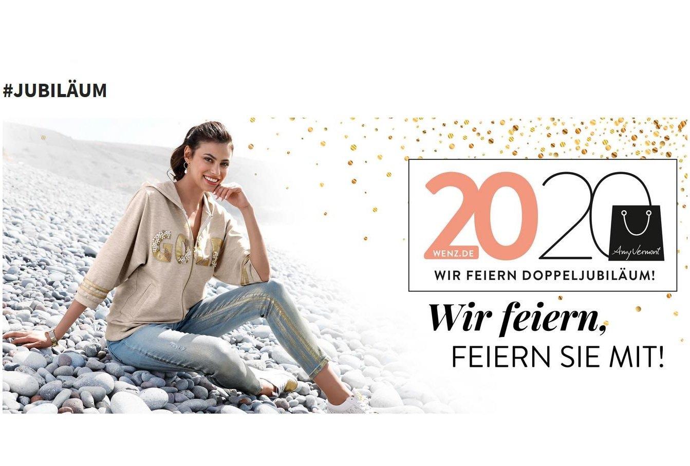 2020 Presse KLiNGEL Gruppe - WENZ Doppeljubiläum - WENZ Onlineshop und Amy Vermont